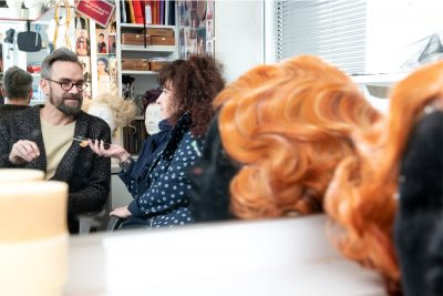 Porträt Wolfgang Weber, Interview Kulturmagazin Leporello, Porträtfotografie, Schmelz Fotodesign, Würzburg