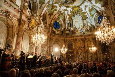 Schmelz Fotodesign, Mozartfest Würzburg, Konzert im Kaisersaal der Würzburger Residenz, Hartmut Haenchen Camerata Salzburg, Eventfotografie