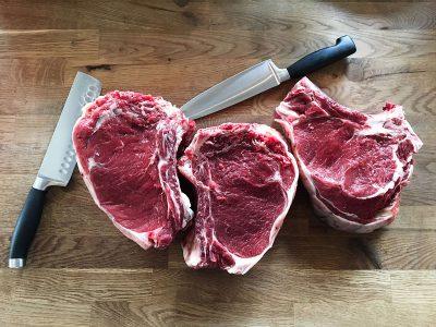 Schmelz Fotodesign, Steaks roh, Foodfotografie, Werbefotografie, Businessfotografie