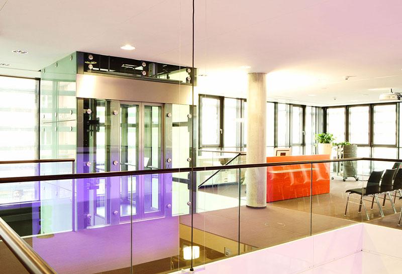 Forum VR Bank Würzburg, Architekturfotografie, Schmelz Fotodesign