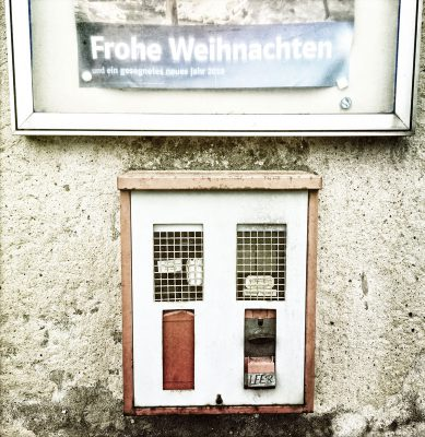 Schmelz Fotodesign, Kaugummiautomat Retro, Reportagefotografie, Slow Pictures, Fotokunst